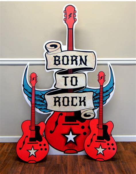 Born To Rock born to rock birthday express
