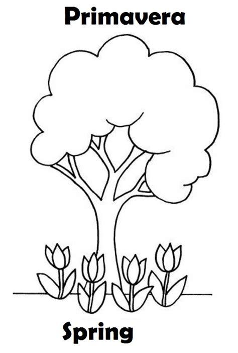 imagenes en ingles para colorear imagenes de primavera para colorear ingles espa 241 ol