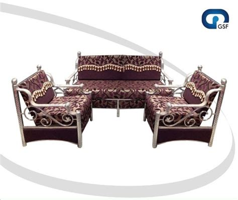 steel sofa set designs ss sofa set designer steel sofa set manufacturer from rajkot