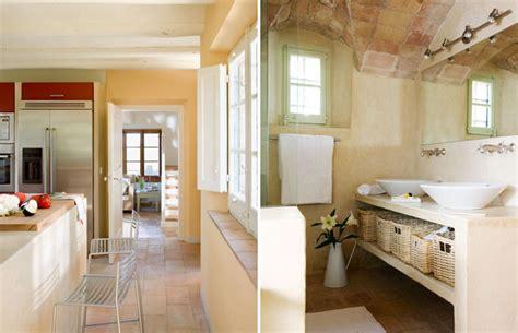 Rustic Mediterranean Interior Design by Mediterranean Home With Rustic Charm Idesignarch