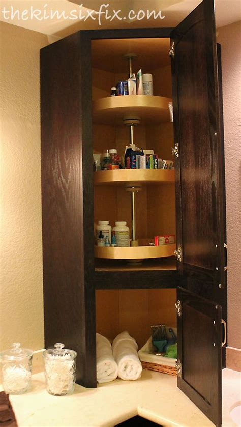 lazy susan for bathroom lazy susan medicine cabinet one day bathroom pinterest master bathrooms and