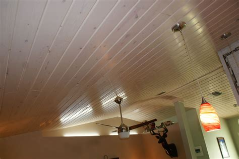 Cypress Ceiling Which Stain Sealer The Hull Truth