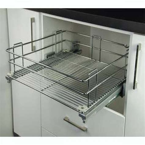 Wire Drawers by For Pantry With Pull Out Wire Basket Drawers From