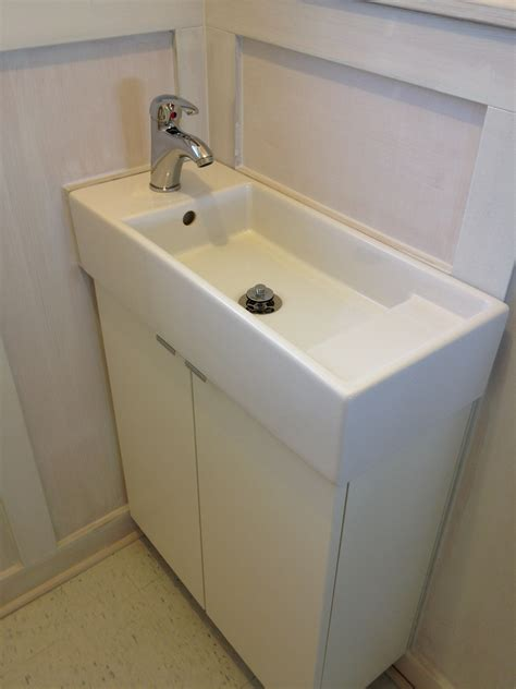 ikea sinks bathroom lillangen sink from ikea with krakskar faucet wny handyman