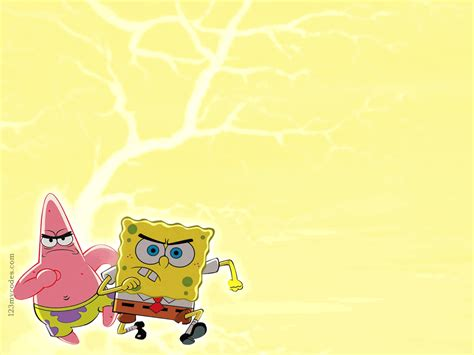 spongebob powerpoint template spongebob backgrounds wallpaper cave