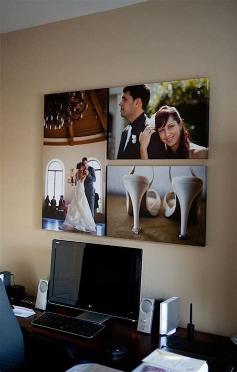 wedding photo wall decoration