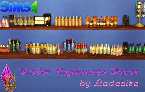 violet nightmare set 157 items at ladesire 187 sims 4 updates