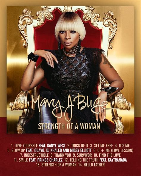 J Blige Album In Stores Today by J Blige Reveals Tracklist For Upcoming Album