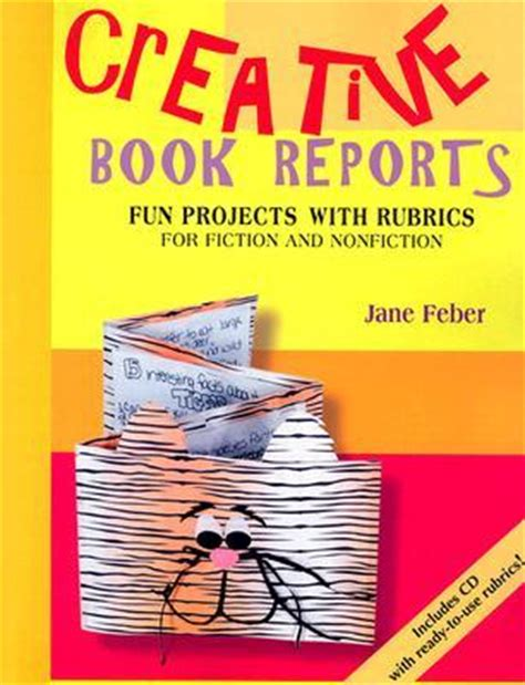 creative book report ideas for middle school creative book reports