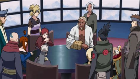 The Five Kage's Decision | Narutopedia | Fandom powered by ... Naruto Shippuden Episodes List