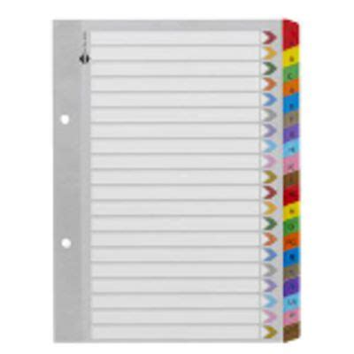 printable alphabetical dividers index tab dividers officeworks