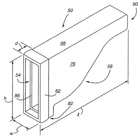 Patent Us6918213 Plastic Pergola End Caps Of Extended Pergola End Caps