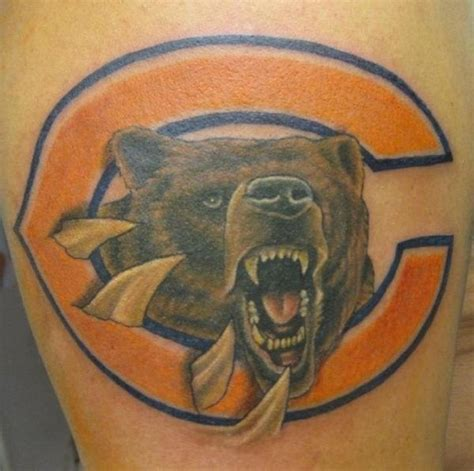 chicago ink tattoo 17 best images about chicago bears tattoos on