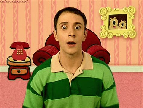 steve and tv shows blues clues gif find on giphy