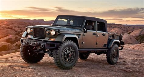chief jeep concept jeep crew chief 715 concept dissected feature car and