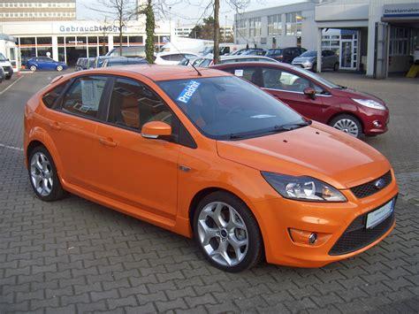 Orange Front Door by File Ford Focus 2 5 St 4 Door C307 Mk Ii 2009 Frontright