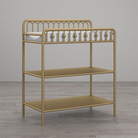Metal Changing Table Little Seeds Monarch Hill Ivy Metal Changing Table Gold