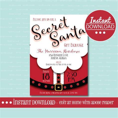 Instant Gift Card Exchange - the 25 best secret santa invitation ideas on pinterest