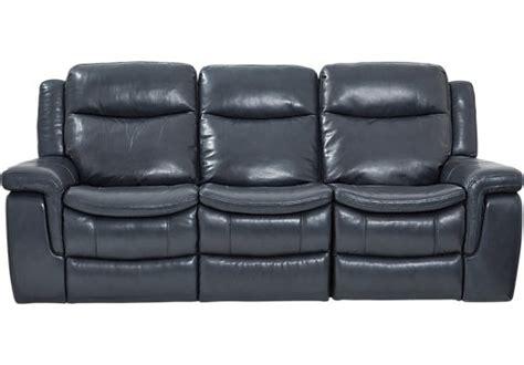 Blue Sofa Leather Leather Furniture For Sale Shop Leather Living Room Furniture