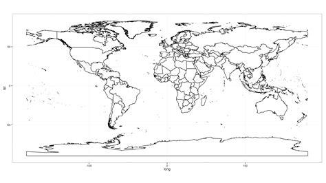 printable world map with borders printable world map blank largeprintable world maps 点力图库