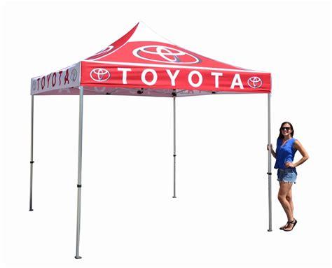 Canopy Logo 10 X 10 Pop Up Event Tent W Stock Canopy Luxury Auto