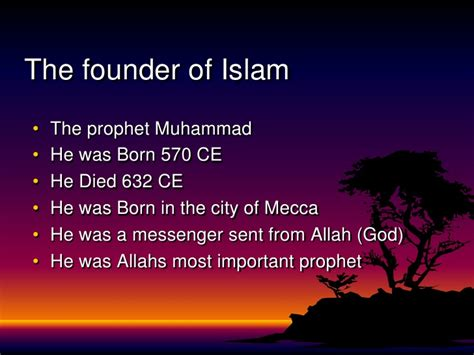biography of muhammad the founder of islam islam div 3