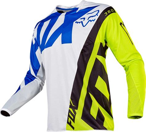 fox motocross jerseys 2017 fox racing 360 creo jersey mx motocross off road