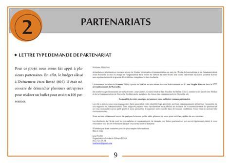 Exemple De Lettre De Demande Partenariat Soir 233 E Cl 244 Ture 7e 233 Dition Ejcam