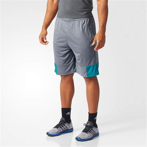 Adidas Swat adidas mens swat plain shorts vista grey green