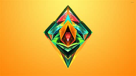 wallpaper of colorful diamonds colorful facets shining inside the diamond wallpaper