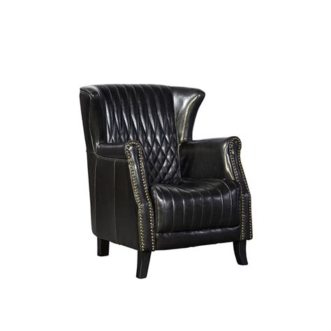 fleas in leather couch furniture classics 91 17101b occasional chairs black