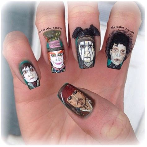 Manicure Pedicure Di Johnny Andrean 1000 images about tv themed nails on