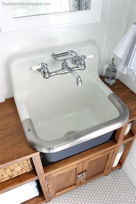 wall mount farm sink best 25 sink ideas on water table for