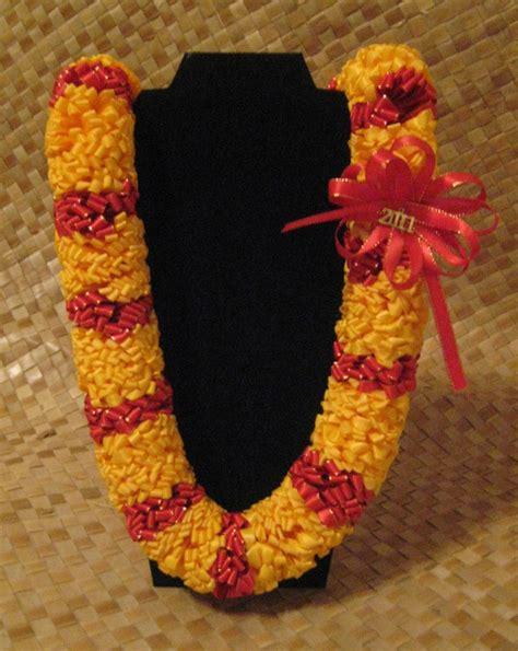 Handmade Leis - handmade ribbon s senior graduation
