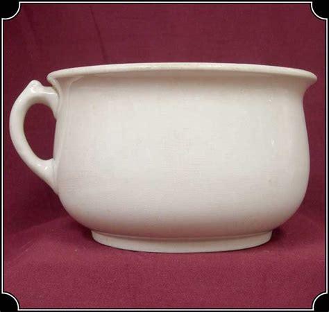 antique chamber pot    united kingdom