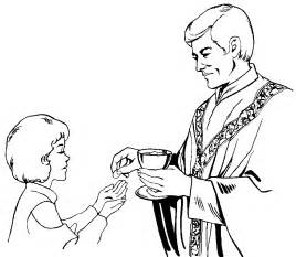 first holy communion coloring pages coloring home
