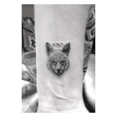 wolf tattoos on wrist dr woo ssc a special lil coyote dr woo at