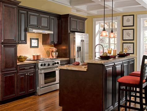 Chocolate Kitchen Cabinets by Findley Amp Myers Palm Beach Dark Chocolate Kitchen Cabinets