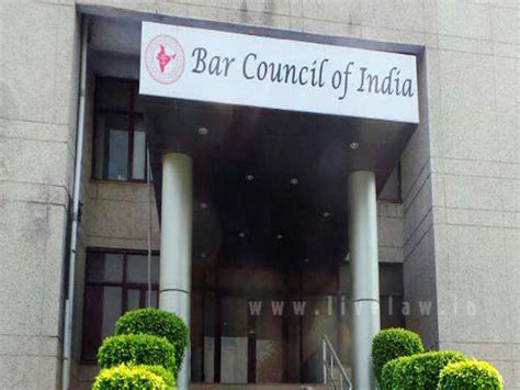 Bar Council Bar Council Of India Acknowledges Accreditation Of
