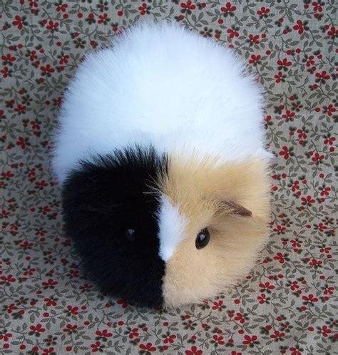 calico guinea pig cute handmade plush toy