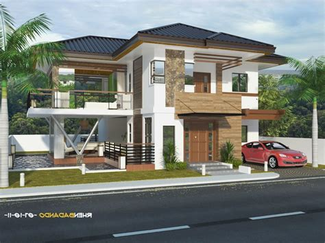 house design ideas with terrace home design modern bungalow house design philippines 194