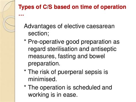 preparing for elective c section caesareansection best