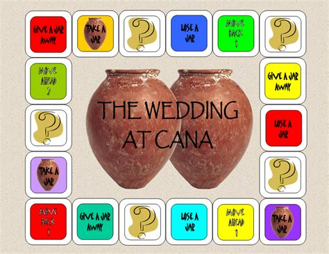 Wedding At Cana Children S Activities by The Catholic Toolbox A To Z Bible Story Lesson Letter W