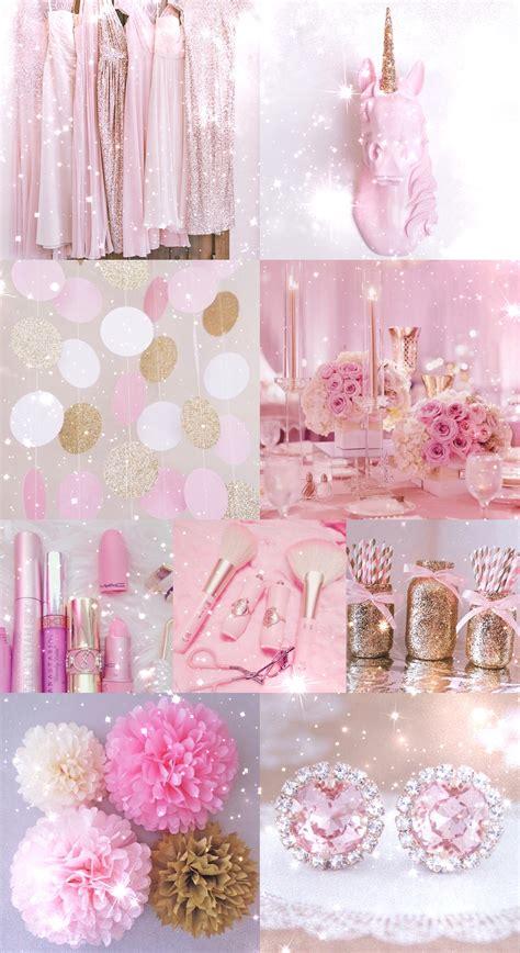 girly makeup wallpaper pink gold wallpaper background hd iphone glitter
