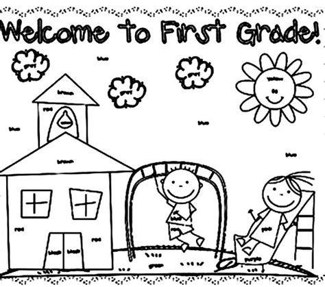 thanksgiving coloring pages for first graders first grade coloring pages coloring page freescoregov com