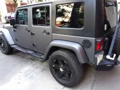 matte dark grey jeep jeep con vinil 3m gris mate metalico dark gray matte 3m