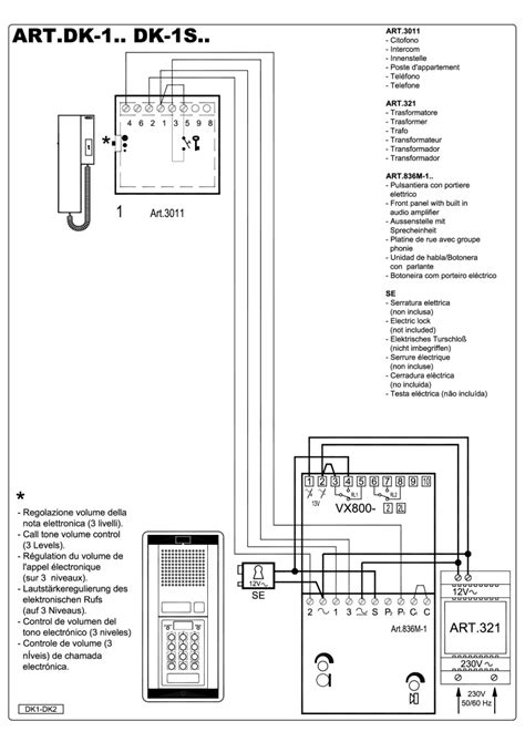 golmar intercom wiring diagram 2wire intercom schematic