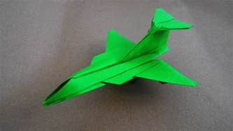 How To Make Cool Airplanes Out Of Paper - how to make paper airplane cool paper plane origami jet