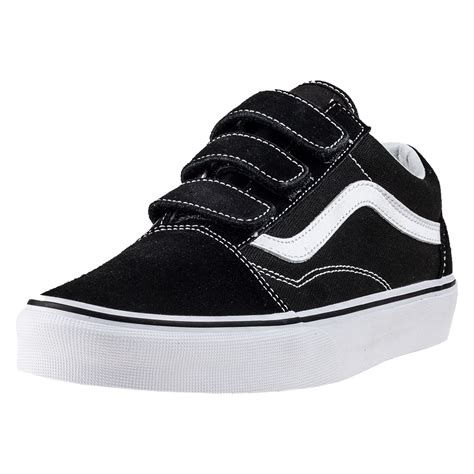 Vans Skool Blackl White Jual Vans Oldskool vans skool v va3d29oiu unisex trainers in black white