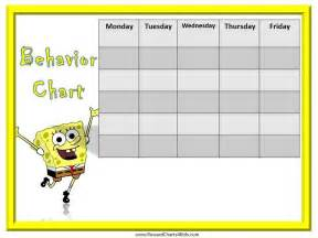 Behavior Charts For Preschoolers Template by Search Results For Template For Behavior Chart